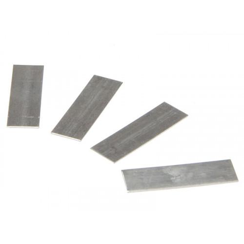 ALM Manufacturing GH005 Aluminium Lap Strips Pack of 50