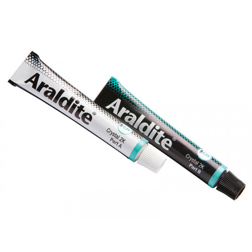 Araldite® Crystal Epoxy 2 x 15ml Tubes