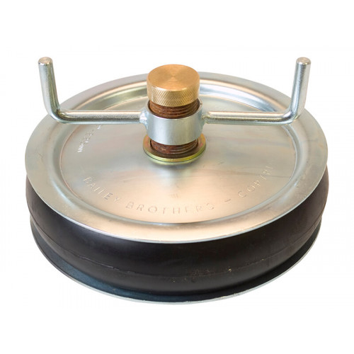 Bailey 2420 Drain Test Plug 225mm (9in) - Brass Cap