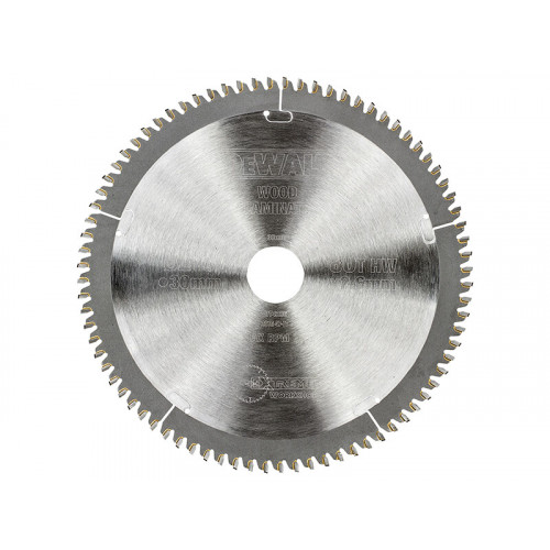 DeWALT Series 40 Circular Saw Blade 216 x 30mm x 80T TCG/Neg