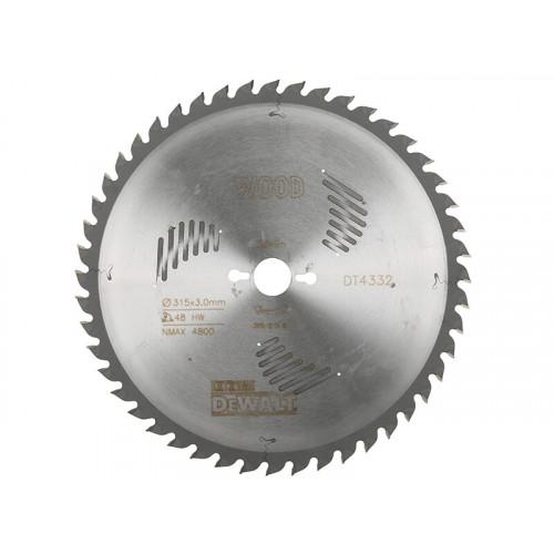DeWALT Series 60 Circular Saw Blade 315 x 30mm x 48T