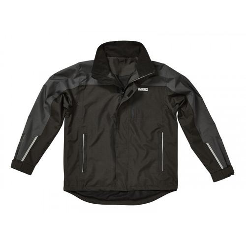 DeWALT Storm Grey/Black Waterproof Jacket - L (46in)