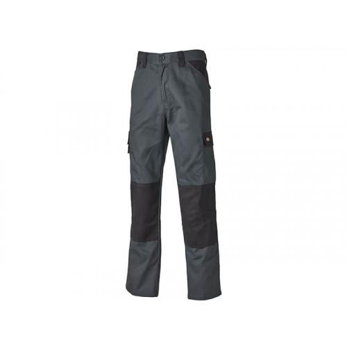 Dickies Everyday Trousers Grey & Black Waist 40in Leg 29in