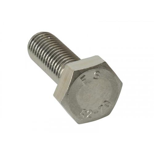 ForgeFix High Tensile Set Screw ZP M10 x 80mm Bag 10