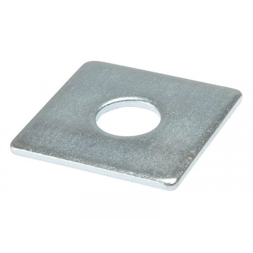 ForgeFix Square Plate Washer ZP 50 x 50 x 10mm Bag 10