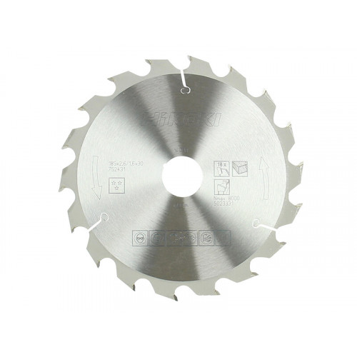 HiKOKI Circular Saw Blade 185 x 30mm x 18T