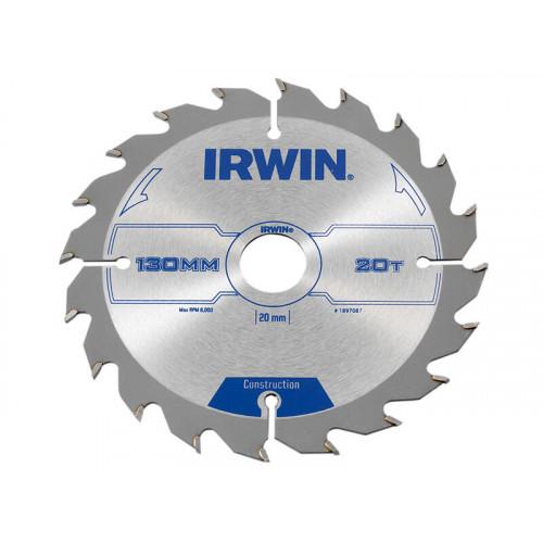 IRWIN® Construction Circular Saw Blade 130 x 20mm x 20T ATB