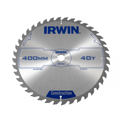 IRWIN® General Purpose Table & Mitre Saw Blade 400 x 30mm x 40T ATB
