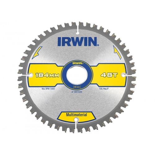 IRWIN® Multi Material Circular Saw Blade 184 x 30mm x 48T TCG