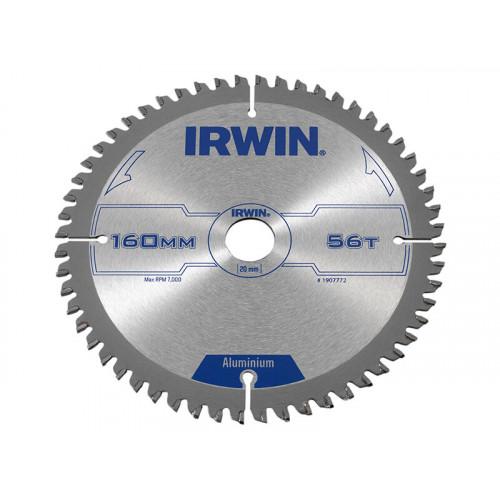 IRWIN® Professional Aluminium Circular Saw Blade 160 x 20mm x 56T TCG